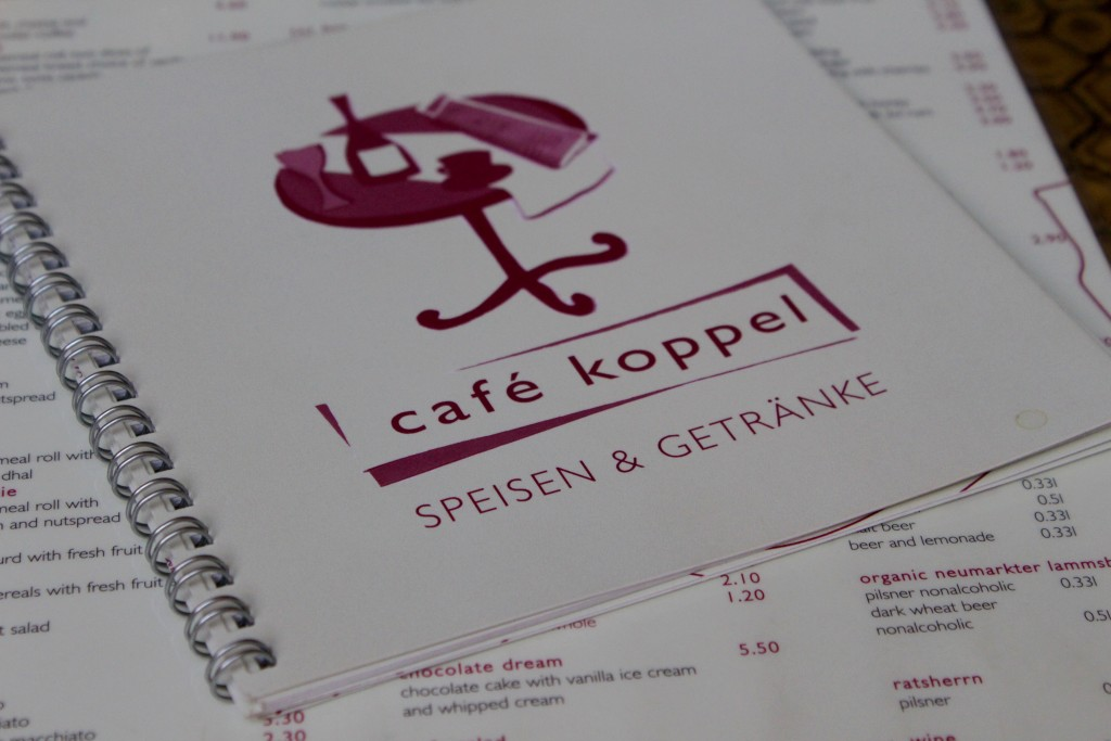 Cafe Koppel, bio restaurant in Hamburg