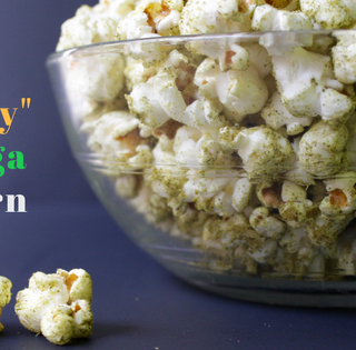 Superfood Popcorn with Moringa