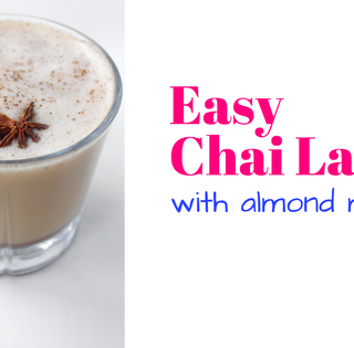 Easy Chai Latte with Almond Milk