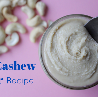 How to Make Cashew Butter in a Blender or Food Processor