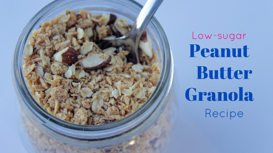 Low sugar granola recipe wit peanut butter
